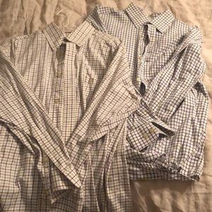 2 Size Large Orvis Shirts Lot